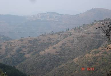 Waknagaht, District Solan View