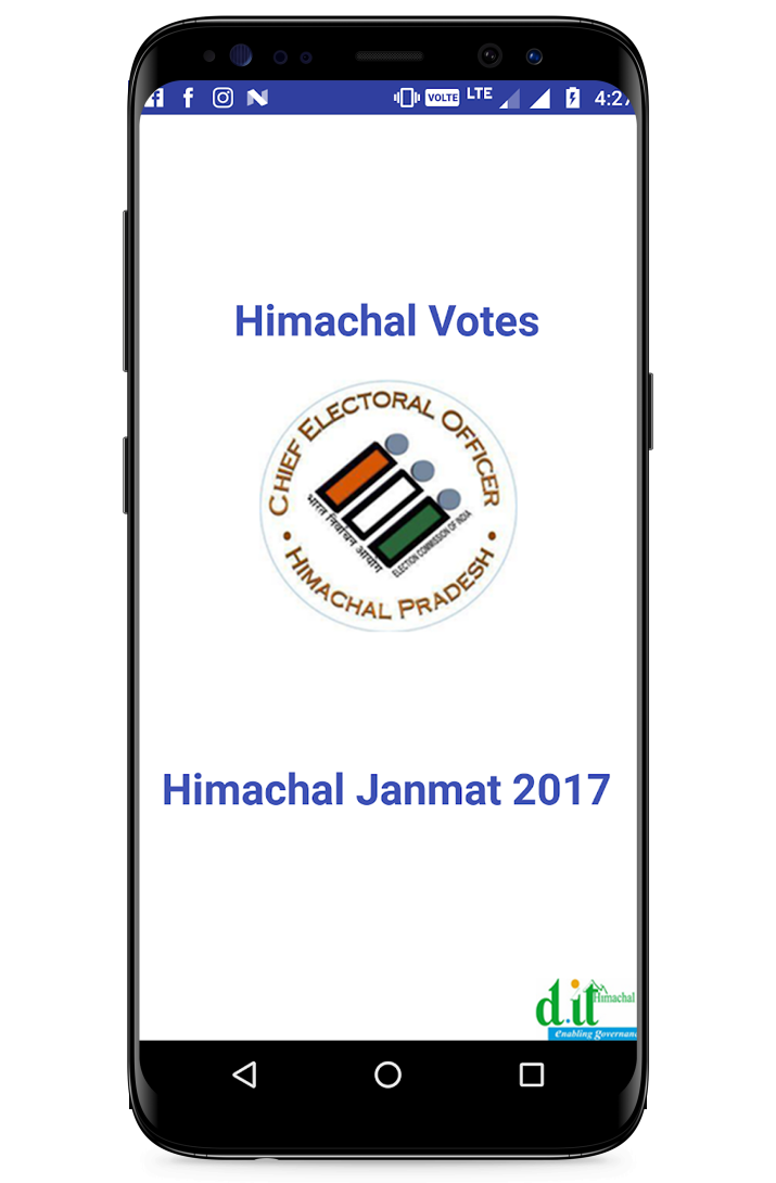Election Commission, Janmat App HP 2017
